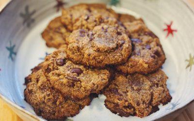 Cookies vegan sans farine